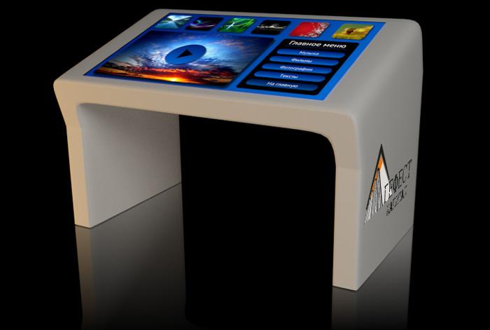 Интерактивный стол или мультитач стол как универсальная система обучения и развлечения